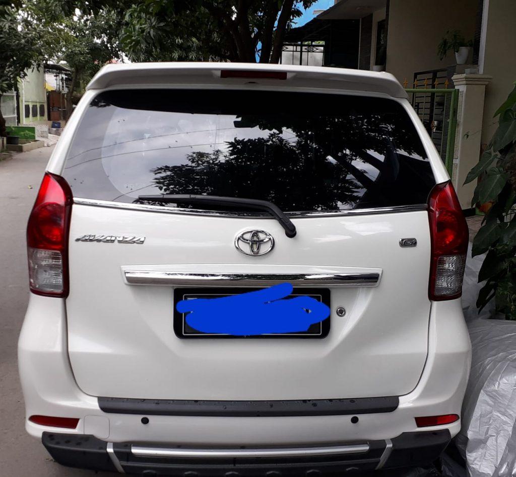 Jual Mobil Avanza Manual 2013 Type G Milik Pribadi Hub : 085719365045
